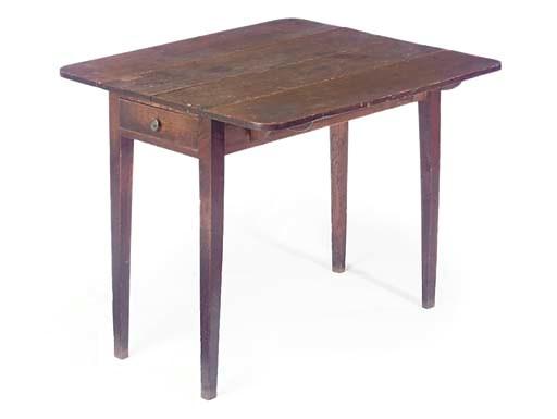AN ENGLISH OAK PEMBROKE TABLE