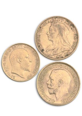 TWO SOVEREIGNS AND A HALF SOVE