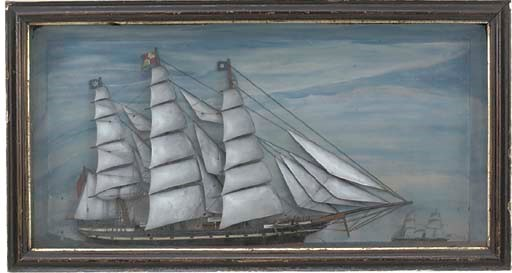 A LATE 19TH CENTURY SAILOR'S H