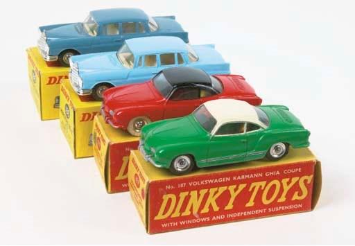 Dinky German Cars