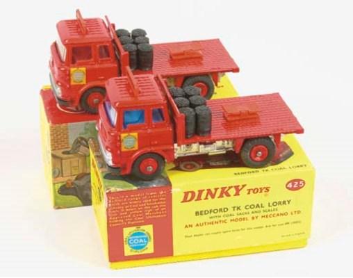 Dinky 425 Bedford TK Coal Lorr