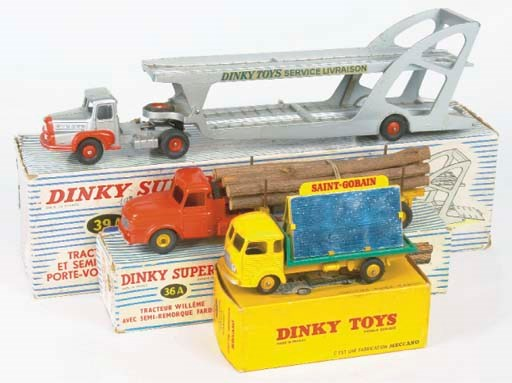 Dinky French Factory Commercia