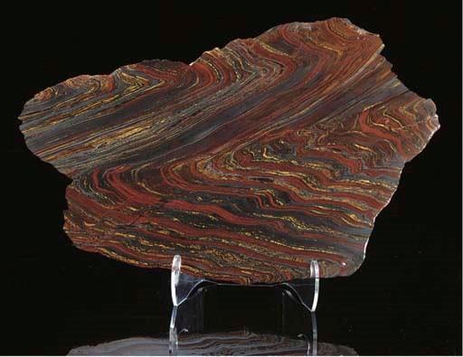 A good tiger iron slice,