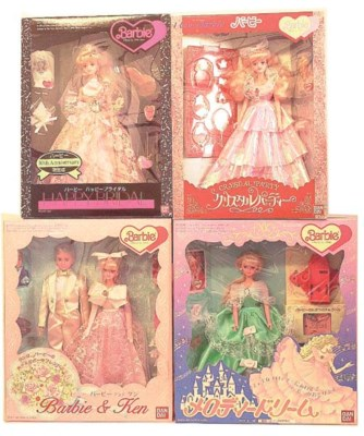 Bandai Japanese Market Barbies