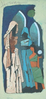 Maqbool Fida Husain (India, b.