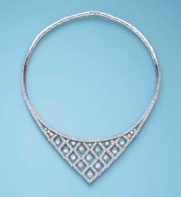 A DIAMOND NECKLACE, BY GRAFF