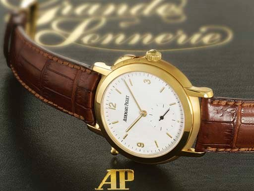 AUDEMARS PIGUET. A FINE AND VE