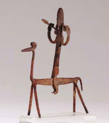 A BAMBARA HORSE MAN