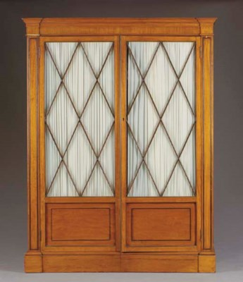 A CONTINENTAL SATINWOOD AND EB