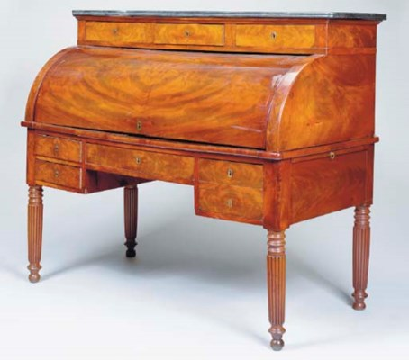 A LOUIS PHILIPPE MAHOGANY WITH