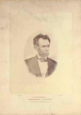 [LINCOLN, Abraham]. WARREN, He
