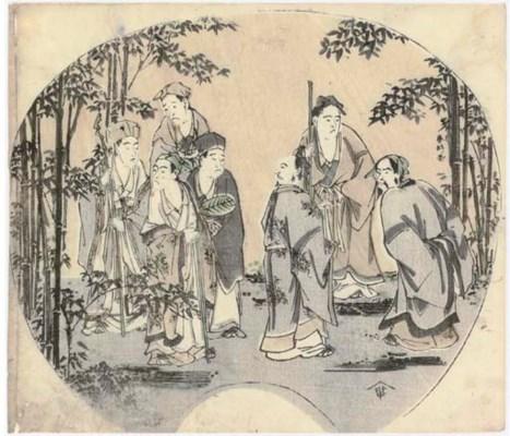 Katsukawa Shunko (1743-1812) V