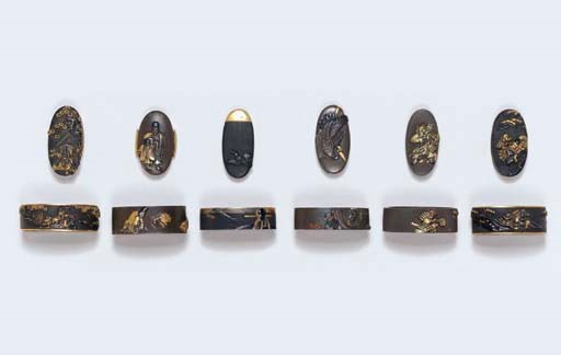 Six Sets of Fuchi-Kashira