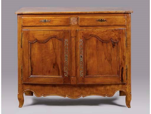 A LOUIS XV PROVINCIAL CARVED C