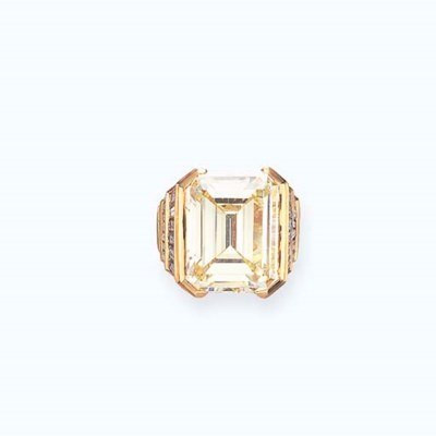 A DIAMOND RING, BY BULGARI