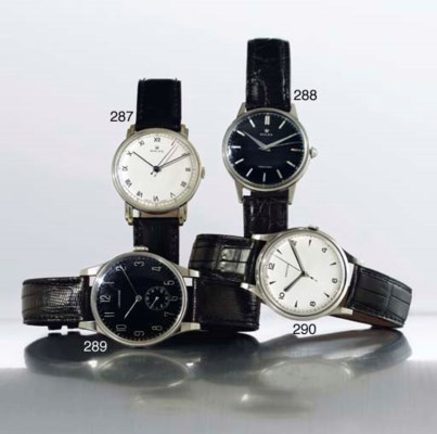 LONGINES.  A LARGE STAINLESS S