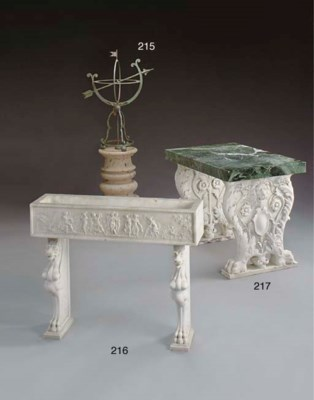 An Italian Renaissance style w