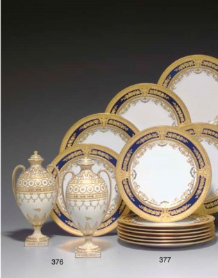 A PAIR OF ROYAL CROWN DERBY IV