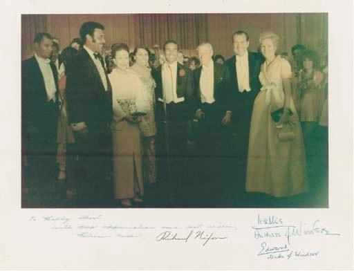 Richard Nixon, Edward and Wall