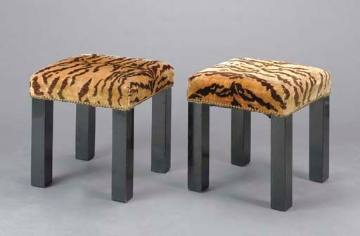 A PAIR OF CONTEMPORARY LEOPARD