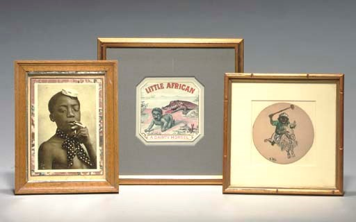 A GROUP OF VARIOUS FRAMED AFRI