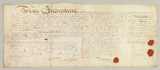 McKEAN, THOMAS. Document signe