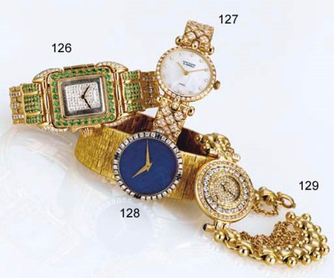 PIAGET. A LADY'S 18K TWO-COLOR