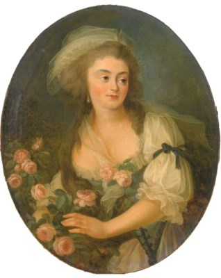 ENTOURAGE DE LOUISE-ELISABETH