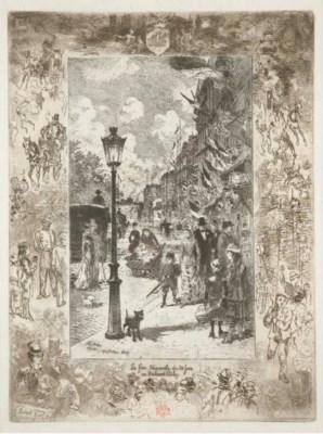 FELIX HILAIRE BUHOT (1847-1898