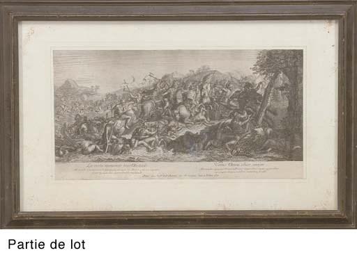 D'APRES CHARLES LE BRUN (1619-
