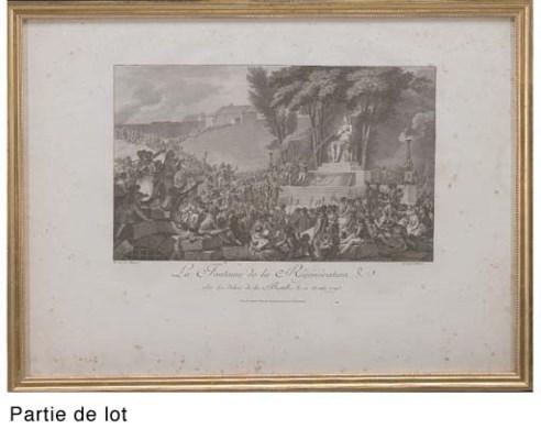 D'APRES CHARLES MONNET (1732-1