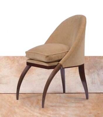 emile jacques ruhlmann 1879 1933 fauteuil 39 defenses 39 vers 1920 christie 39 s. Black Bedroom Furniture Sets. Home Design Ideas