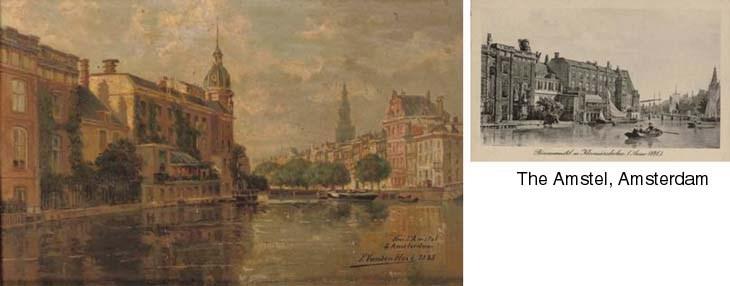 F. van den Hove (Belgian, fl.