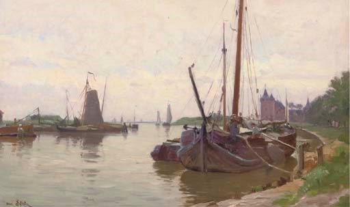 Henri Saintin (French, 1846-18