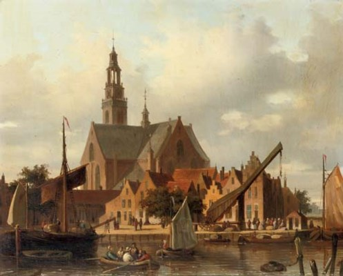 Everhardus Koster (Dutch, 1817