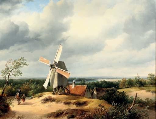 Cornelis Lieste (Dutch, 1817-1