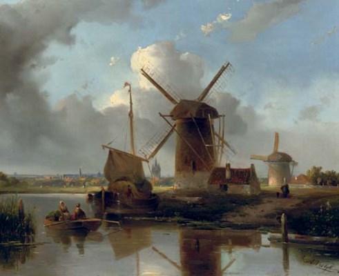 Adrianus Vrolijk (Dutch, 1834-