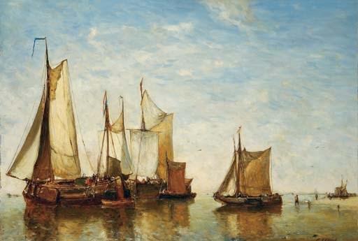 Paul Jean Clays (Belgian, 1817