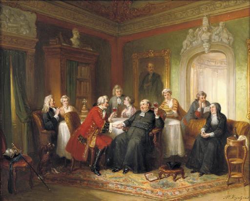 Op het heil van kerk en staat: a merry toast