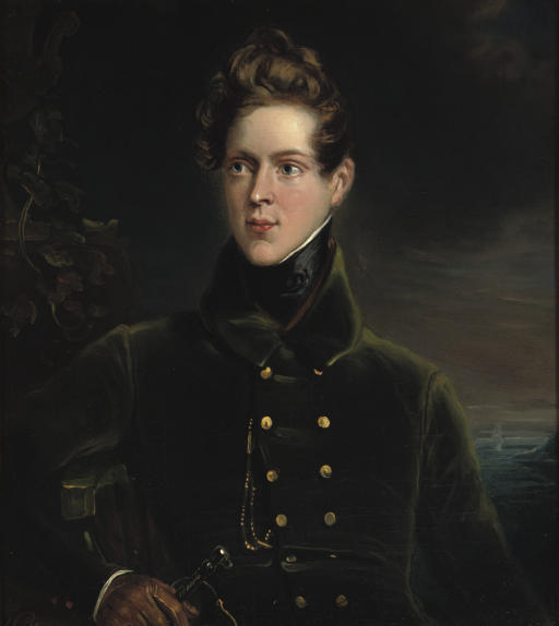 A young marine officer