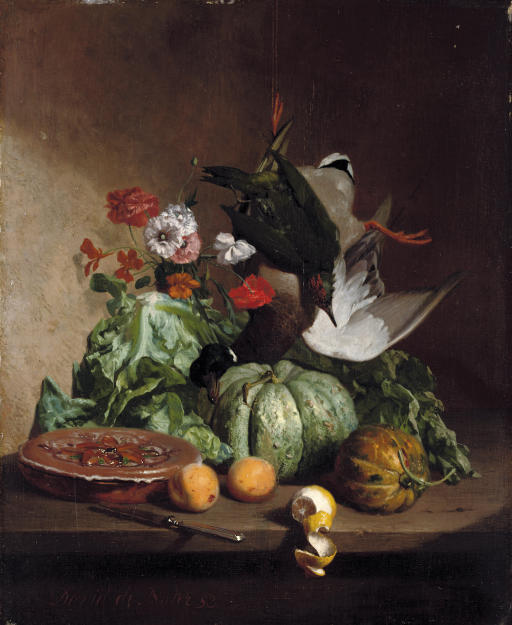 Fruit, flowers and game