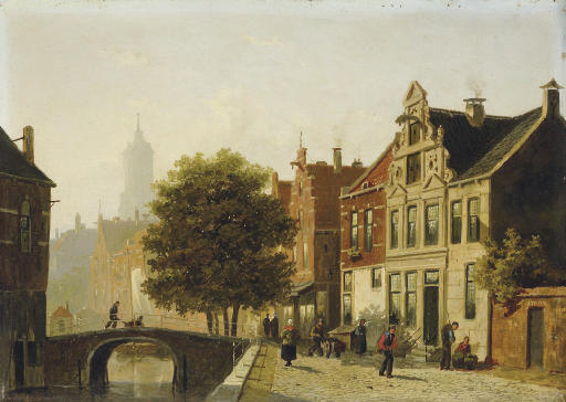 A view of a canal in Utrecht