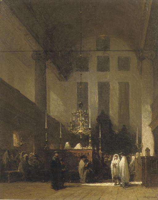 The Portuguese Synagogue, Amsterdam: in the Esnoga