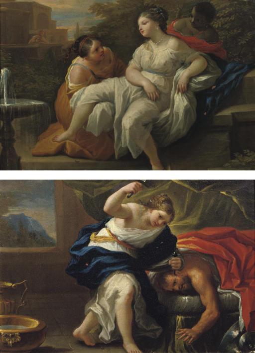Jael slaying Sisera; and David spying on Bathsheba