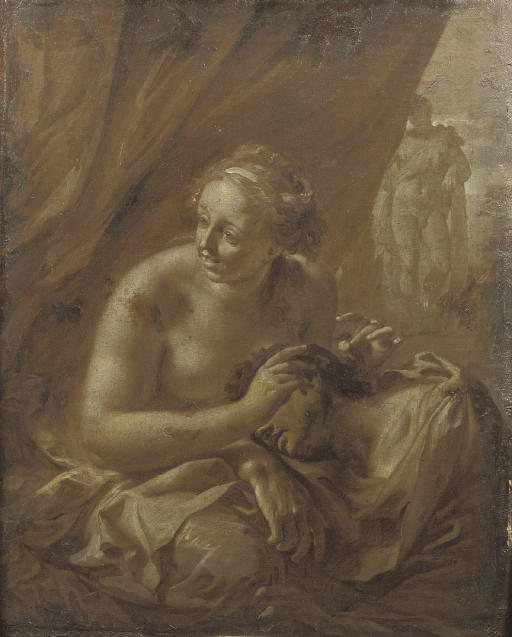 Samson and Delilah; 'en brunaille'