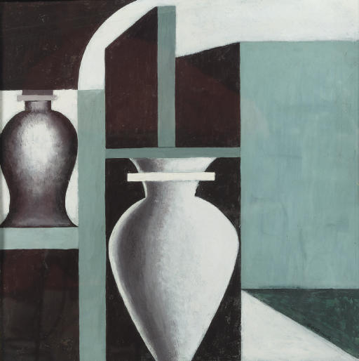 Composition with vases