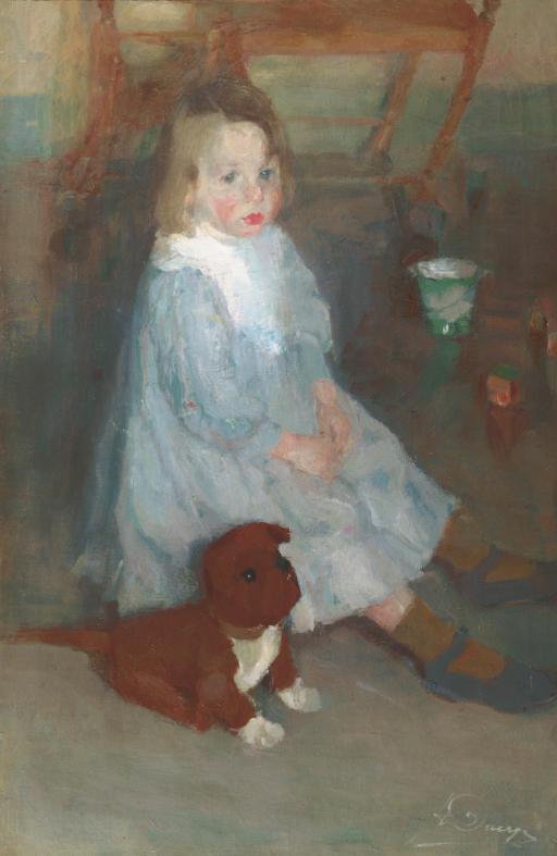L'enfant au chien (Le petit frère Maurice)