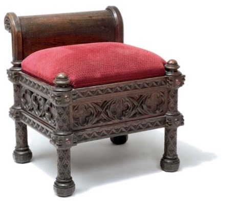 GOTHIC REVIVAL STOOL