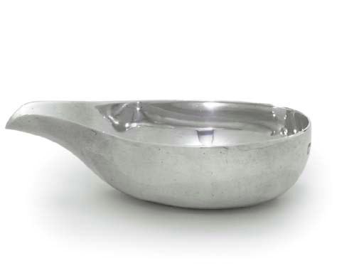 A GEORGE II SILVER PAP-BOAT