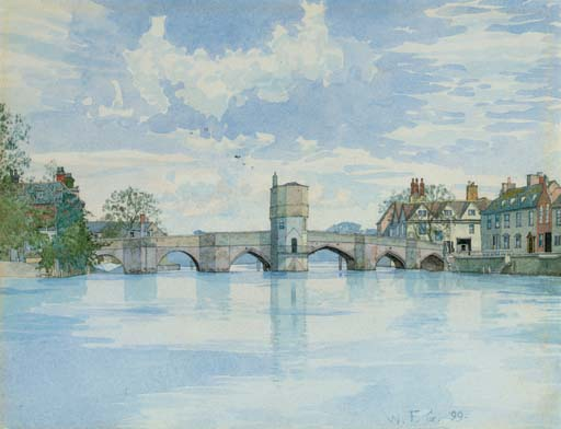 St Ives Bridge, St Ives, Huntingdonshire